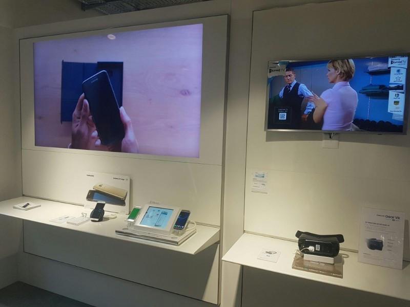 Samsung TV Bereich