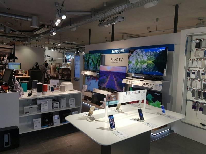 Samsung Smartphones- und TV Bereich