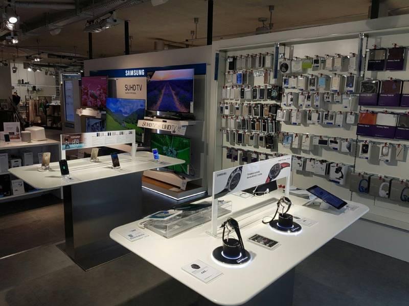 Samsung Smartphones mit Zubehör